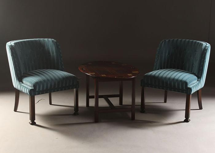 ØND   Armchair Poltrona Design Scandinavo  ARMCHAIR A0127 + TABLE T0107