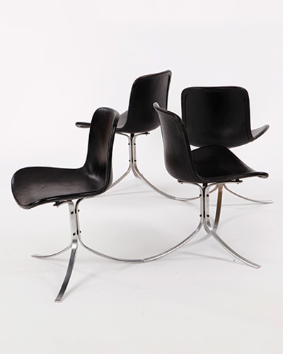 ØND   Chair Sedia Design Scandinavo   CHAIR PK9 TULIP C0105