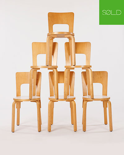 ØND | Chair Sedia Design Scandinavo Alvar Aalto | CHAIR65 C0102